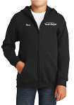 Gildan Youth Heavy Blend 8 oz., 50/50 Full-Zip Hood